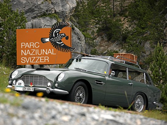The 16th St Moritz British Classic Car Meeting