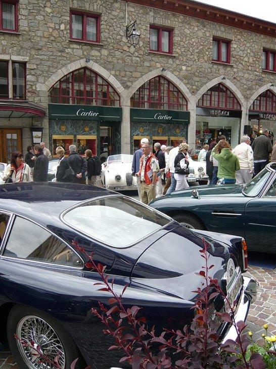 The 16th St Moritz British Classic Car Meeting