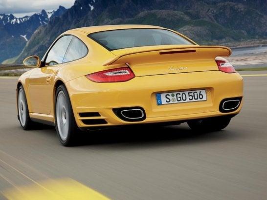 Porsche 911 Turbo: New Model for 2009 Frankfurt Show Launch