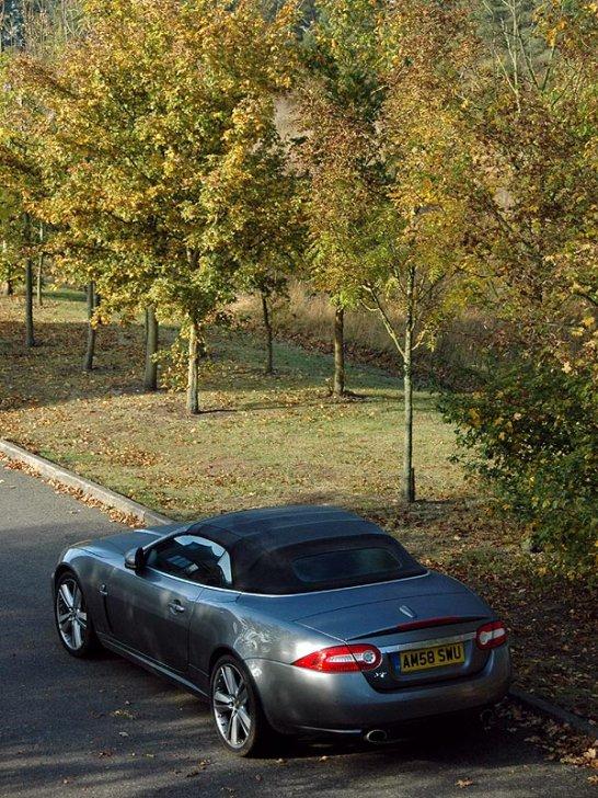 Driven: Jaguar XK Convertible 5.0