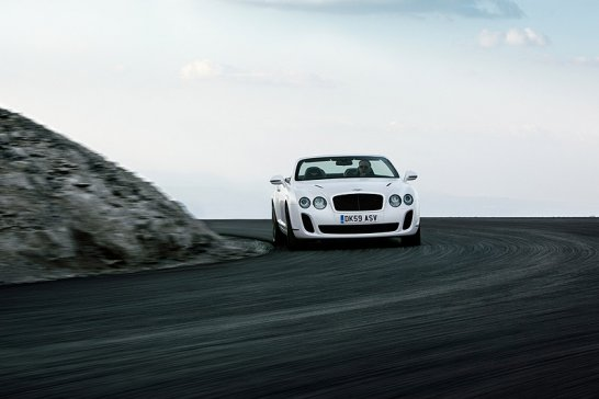 Geneva Preview: Bentley Continental Supersports Convertible