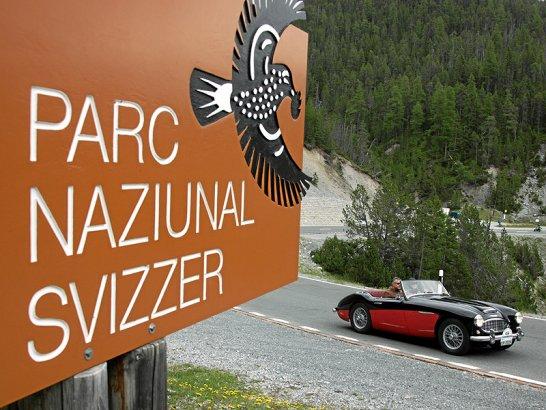 St Moritz: 17th British Classic Car Meeting