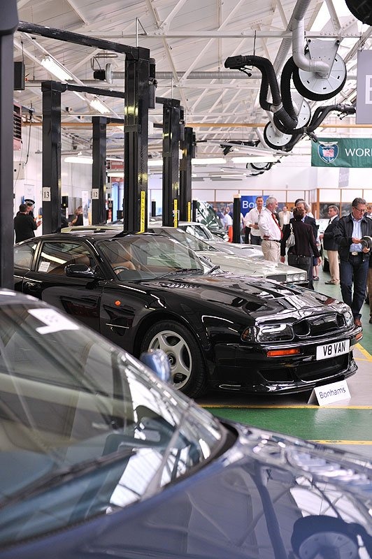 Bonhams Aston Martin Sale at Newport Pagnell -  22 May 2010 - Review