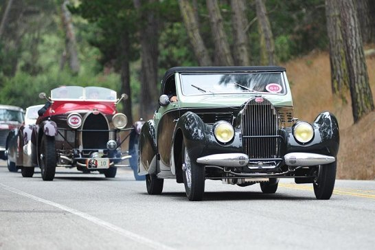The 2010 Pebble Beach Tour d'Elegance Presented by Rolex