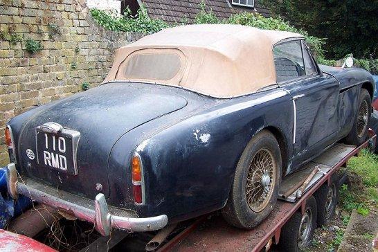 Aston Martin DB2 von David Brown wiederentdeckt