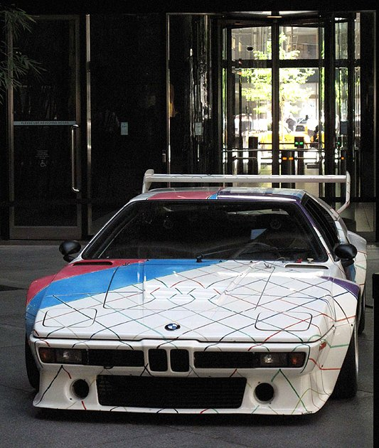 Bonhams Quail Lodge this August to include Frank Stella-painted BMW M1 from the Guggenheim