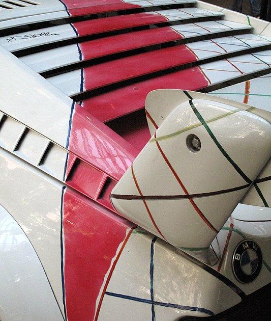 Bonhams versteigert BMW M1 Art Car von Frank Stella