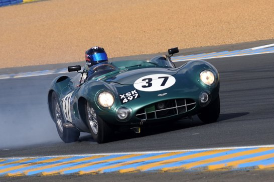 Stirling Says Goodbye to Racing – but stays to support the Le Mans Legend 2011