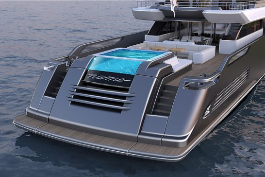 New CRN superyacht range 'Dislopen': high-performance 'open boats'
