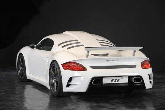 Updated RUF CTR3 with 740bhp