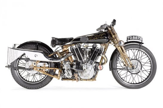 Brough Superior SS100 set to become world's most expensive motorcycle
