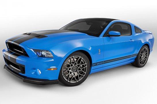 200mph Ford Shelby GT500 Mustang breaks cover in LA