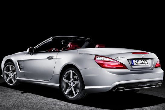 New Mercedes SL revealed ahead of 2012 launch