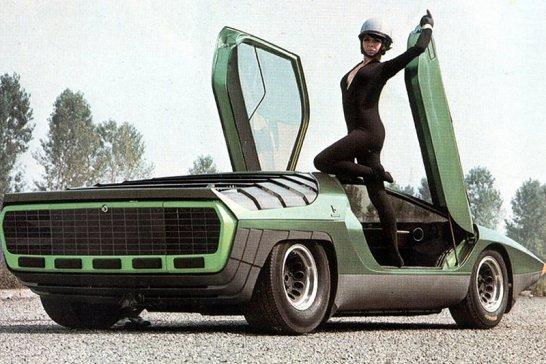 Classic Concepts: 1968 Alfa Romeo Carabo
