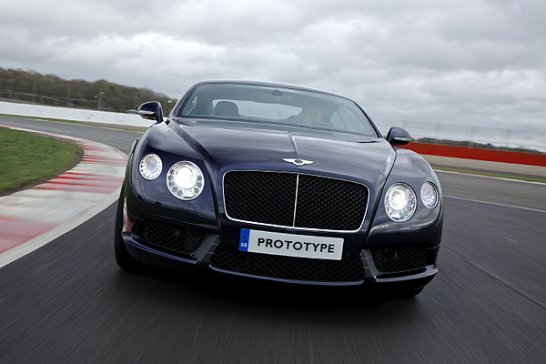 Driven: Bentley Continental GT V8