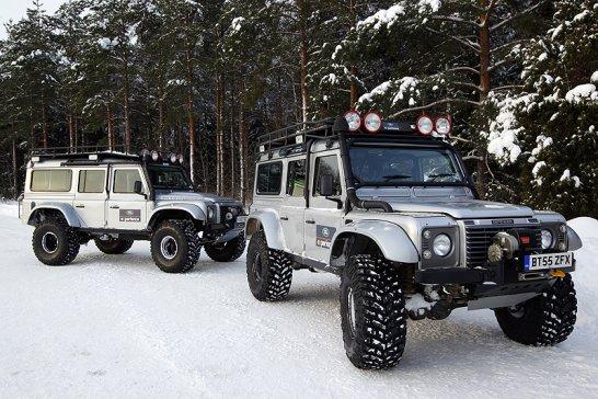 Driven: Land Rover Defender Big Foot