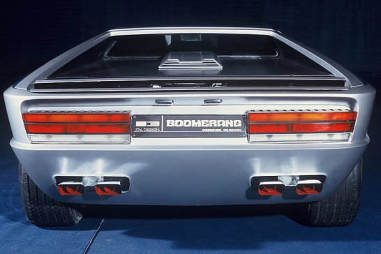 Classic Concepts: 1972 Maserati Boomerang by Italdesign