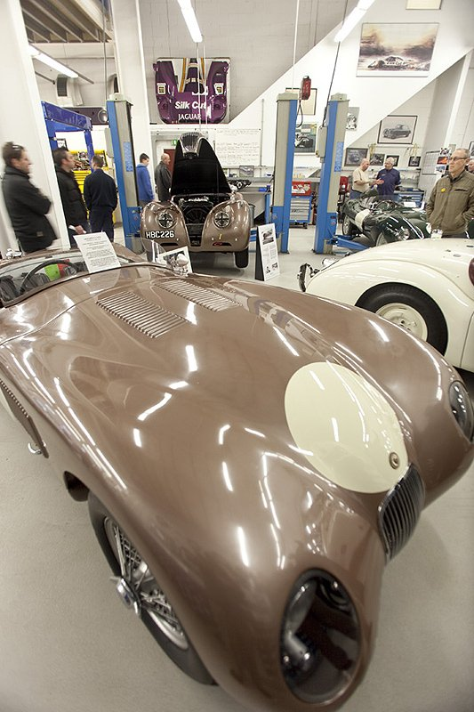 A 'Slice of Jaguar' for Breakfast at JD Classics