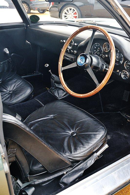 Driven: Aston Martin DB4GT Zagato Sanction II