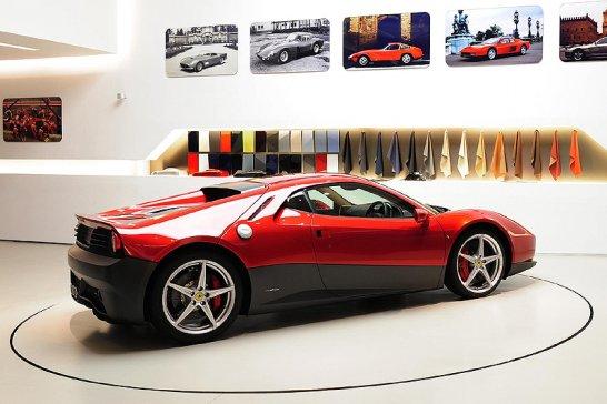 Ferrari SP12 EC: One-Off für Eric Clapton