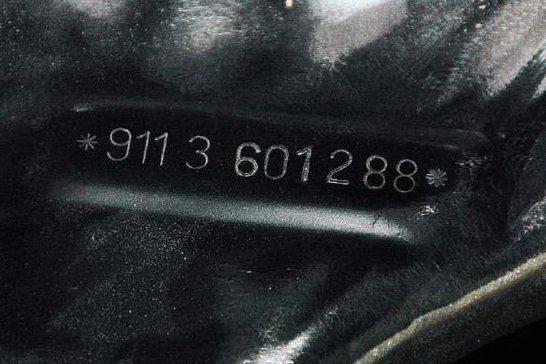 One of Three: Rennsport Special RHD 1973 Carrera RS in Black