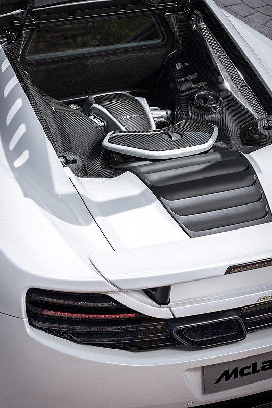 Enhanced McLaren MP4-12C