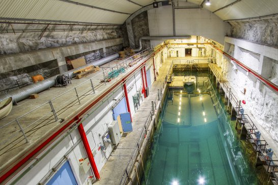 Bond villain-style secret submarine base for sale