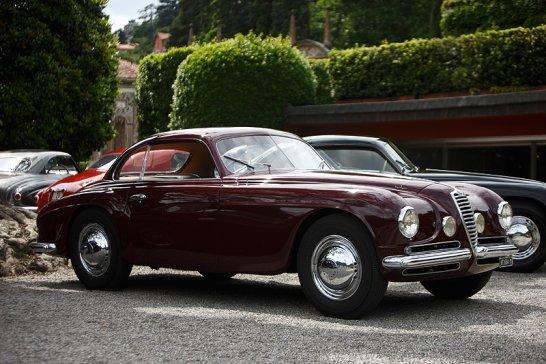 Alfa Romeo 6C 2500SS Coupé Villa d'Este: Späte Heimkehr