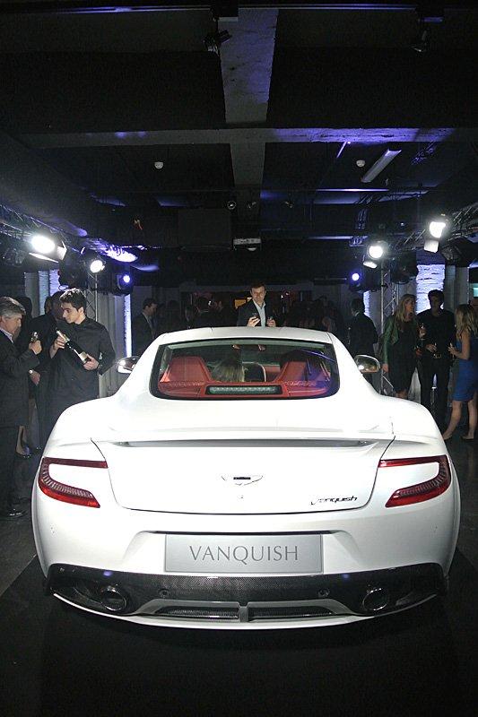 2012 Aston Martin AM310 Vanquish Launches in London