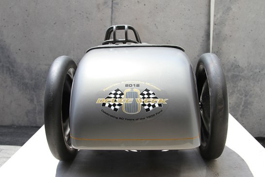 Ford Salt Flat Racer Pedal Car: Little pedal to the metal