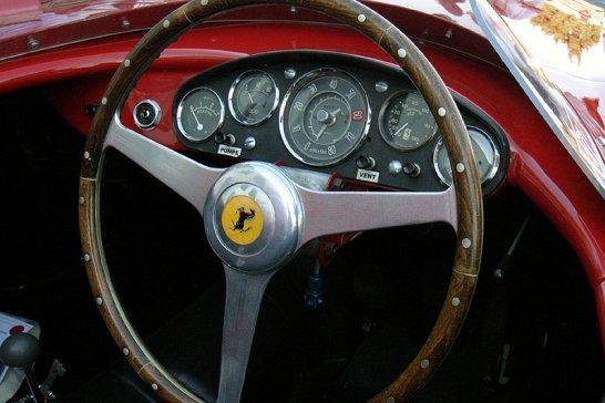Coming to  Pebble Beach 2012: 1955 Ferrari 410 Sport