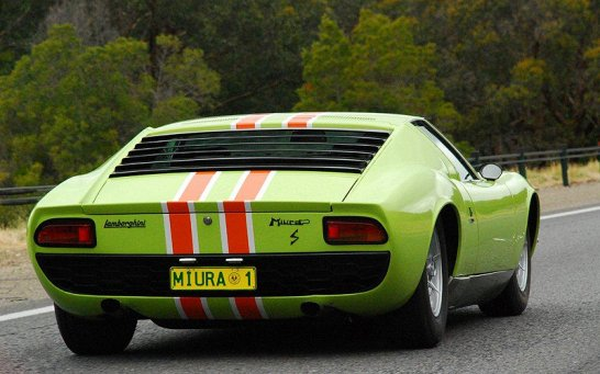 'Twiggy's Miura' to Star at 2012 Melbourne Motorclassica Auction