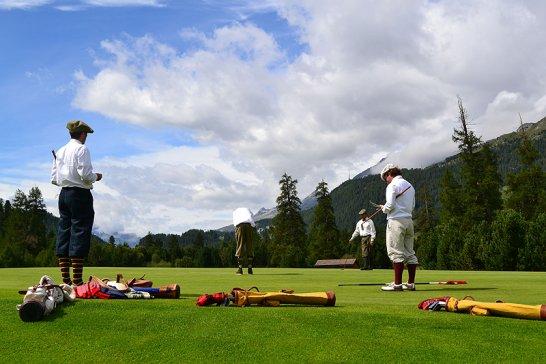 Swiss Hickory Championship: Golfen wie vor 100 Jahren