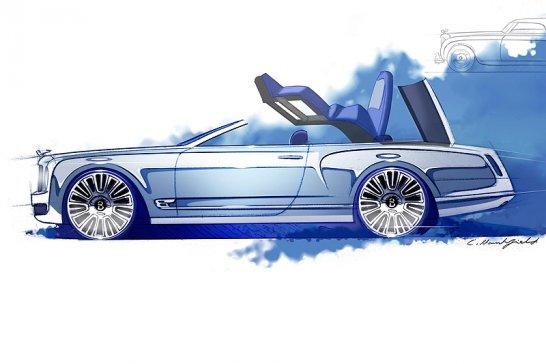 Bentley Mulsanne Vision Concept lässt in Pebble Beach die Hüllen fallen