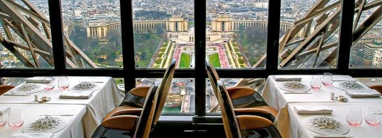 Der Chef empfiehlt: Eine Scheibe vom Eiffelturm