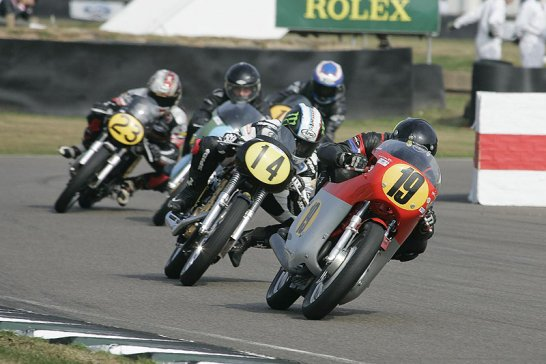 A Good Old-Fashioned Knees-Down: Bikes at the Goodwood Revival 2012
