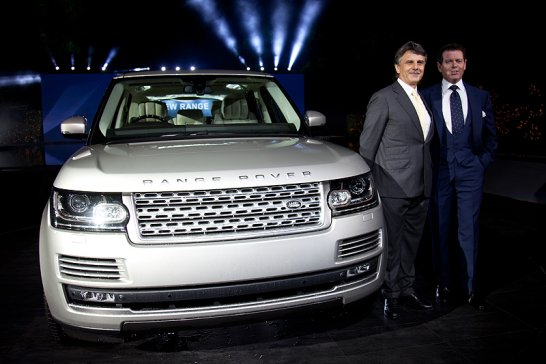The All-New Range Rover: World premiere in London