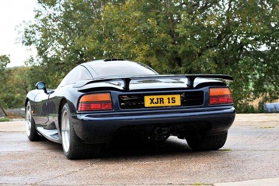 Jaguar XJR-15: Großer Rauschangriff