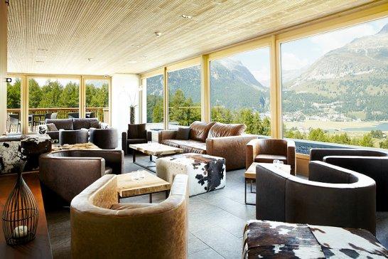 The Nira Alpina Hotel, Silvaplana: A Bohemian newcomer