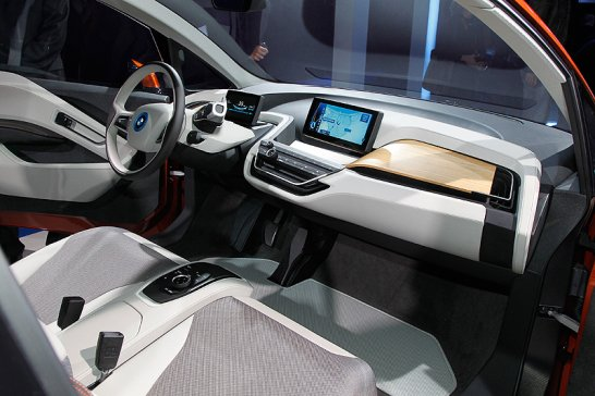 Tapping into the Undercurrent: BMW i3 Concept Coupé
