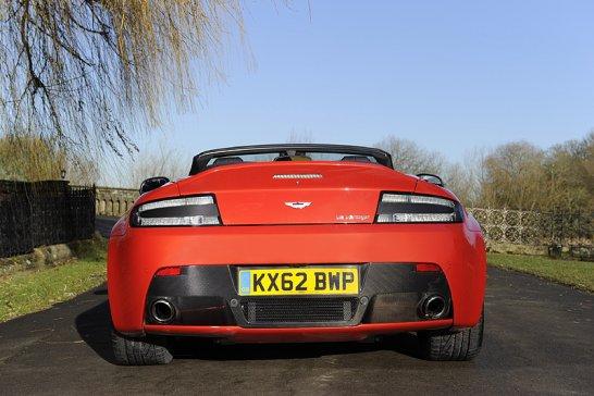 Driven: Aston Martin V12 Vantage Roadster