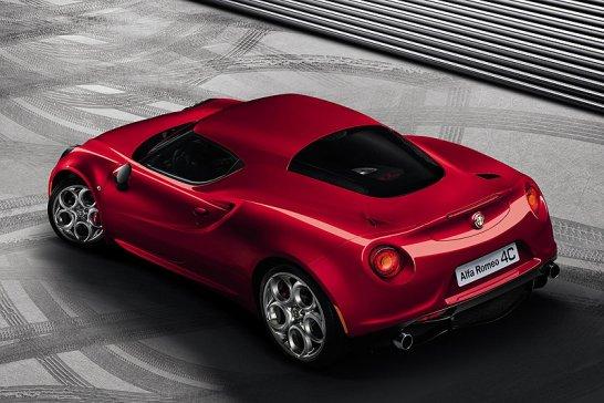 Alfa Romeo 4C kommt!