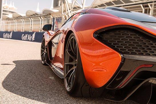 McLaren P1 in Bahrain: Die neuesten Fotos