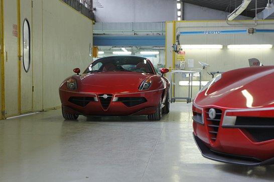 Building the New Carrozzeria Touring Disco Volante: Part 4