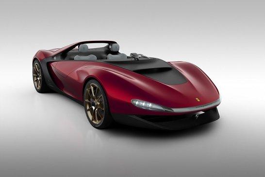 Ferrari Sergio Concept by Pininfarina: Legendenbildung