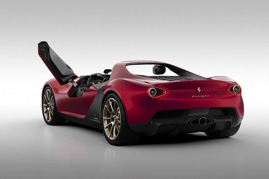 Ferrari Sergio by Pininfarina: Tribute to a legend