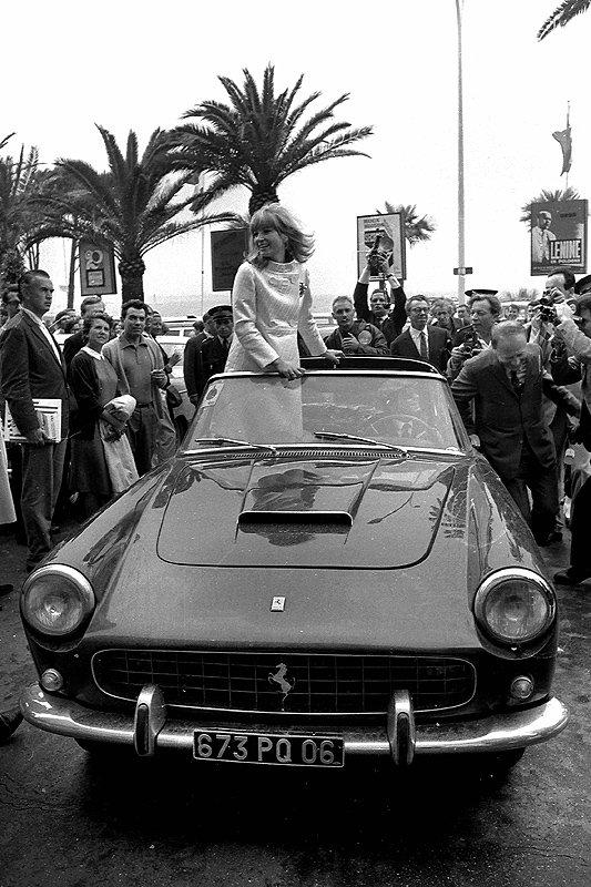 Monica Vitti: As if she were designed by Pininfarina