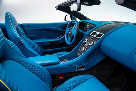 Der neue Aston Martin Vanquish Volante: Einmal alles, bitte