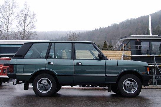 Range Rover 'Classic': Ankommen, um jeden Preis