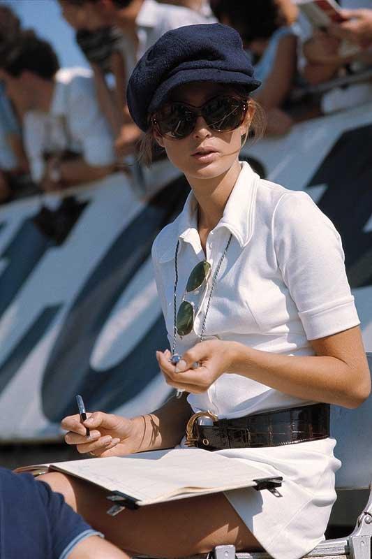 Der schönste Zeitmesser aller Zeiten heißt Nina Rindt